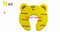 Wholesale children Security door card door clip door file baby security products cartoon lovely