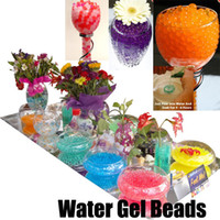 Wholesale 100 Bags Water Gel Beads Pearls Crystal Soil Mud for Wedding Party Vase Decor Floral Arrangment