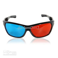 Wholesale 3D Viewing Glasses Work for D Movies Print Magazines Comic Books Anaglyph D