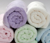 Wholesale Anti Microbial Bamboo Towels Wash cloths bath SPA Sports Gym Yoga towel cm london MIX