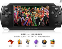 Wholesale 1pcs G brand JXD A1000 quot LCD Game Console with TF MP5 Media Player Camera AV Out FM