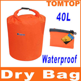 Wholesale 40L Water Resistant Waterproof Dry Bag for Canoe Floating Boating Kayaking Camping H8071M