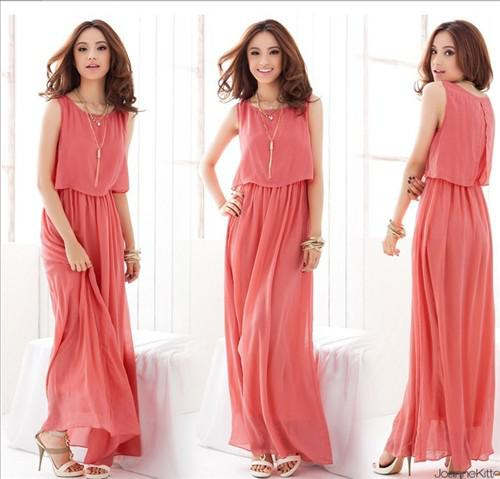 Casual Long Dresses For Women Photo Album - The Fashions Of Paradise