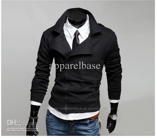 Fashion Men Hoodies 2014 Autumn Spring Big Size Cotton O Neck Long