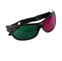 Wholesale Cool Magenta Green Cyan Plastic D Glasses D Dimensional