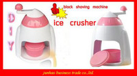 Wholesale Hot Block Shaving Machine Portable Ice Crusher Machine Ice Shaver Crusher Chopper Popular Houseware