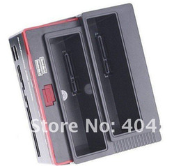 "2.5 3.5"" 2x SATA HDD Docking Station Clone eSATA USB 2.0 HUB+card Reader ALL IN 1 HDD Docking"