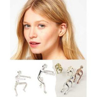 Wholesale Personalized Climbing Men Punk EAR CLIP EARRING EAR CUFF Unisex ear clip ear cuff Earrings FOCUS