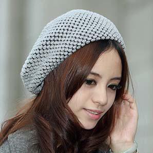 Ladies Beret Caps Knit Hat Patterns Crochet Caps Women Caps Ladies