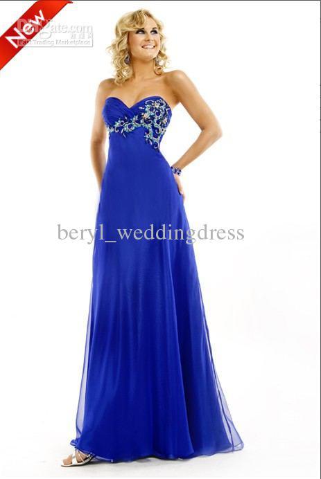 Sapphire Blue Dresses