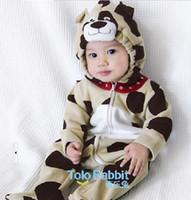 Wholesale Baby rompers One Piece amp Rompers Bodysuit Pyjamas jumpers Toddler romper sleepwear Animal Romper sets