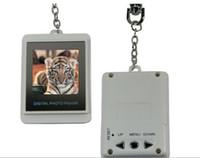 Wholesale 1 inch LCD Mini Digital Photo Frame Picture Digital Album Electronic with Keychain