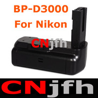 Battery Grip Camera Batteries No Aputure BP-D3000 Camera Battery Grip Vertical Grip For Nikon D3000,D40 D40X D60 DSLR