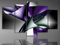 More Panel Oil Painting Fashion In Stock! Framed 5 Panels High End Canvas Painting Modern Art Wall Decoration Panel Art Picture