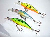 Wholesale Hot Sell Minnow Fishing Lures fishing tackle Bionic bait Mix Order Soft bait cm g