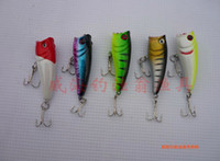 Wholesale Hot Sell Minnow Popper Fishing Lures fishing tackle Bionic bait Mix Order G CM