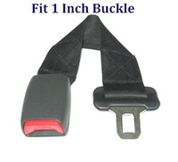 Wholesale NEW Car Seat Belt Seat Belt Extension Extender quot MM WIDE BUCKLE free ship