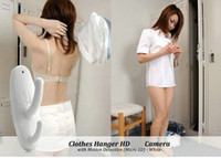 Wholesale Clothes Hanger HD Hidden Camera with Motion Detection x960 High quality Mini Spy DVR Pinhole Cam