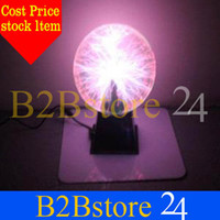 Wholesale electric plasma ball Creative gifts Valentine s Day gift music magic ball ball of lightn