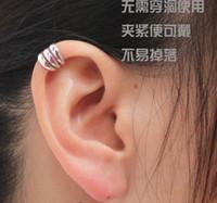 Wholesale Promotion Ear Cuff Delicate Non pierced ears Earring Jewelry Golden Silvery