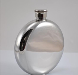 Wholesale Round Flasks oz Stainless Steel Hip Flask Wedding Gifts Advertising Hip Flask