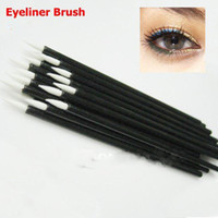 Wholesale Professional One off Eyeliner Brush Disposable Eyeliner Wand Cosmetic Makeup Brush HB951