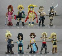 Wholesale Final Fantasy Classic Japan PVC Action Figures Dolls cm set