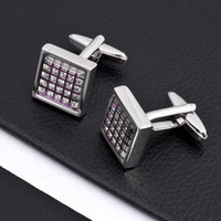 Wholesale New Design Copper Cufflinks Mens Button Cuff Link Fashion Jewelry styles pair
