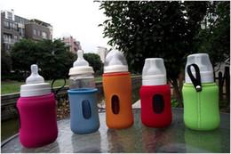 Wholesale Multi color bottle sleeve insulation insulation bag glass bottle protective sleeve dandys