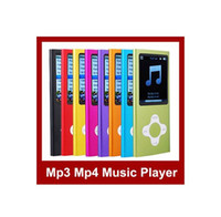 Wholesale 20pcs MP3 mp4 player w screen Cross button built in GB FM games function colors