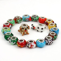 Wholesale Lampwork Animal Mixed European Beads Fit Charms Bracelet
