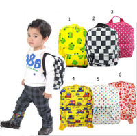 Wholesale 6PCS style animal figures NEW hot children s Cartoon animals school bags boys girls shoulder bag