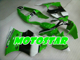 Green black body kit for Kawasaki Ninja ZX6R 636 00 01 02 ZX-6R 2000 2001 2002 ZX 6R motorcycle body fairing