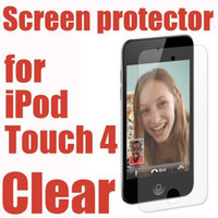 Wholesale Clear LCD Screen Protector Film Guard for Apple Ipod Touch th no Retail Package Low Price