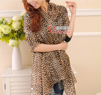 Wholesale Silk Scarves Fashion Beach Lady Boximiya Leopard Grain All match ajx