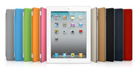 Wholesale Leather Case Smart Cover Adjustable Holder Stand for ipad the New ipad without Retail Package