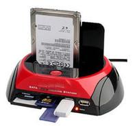 backup cf card - SATA HDD Docking Station quot quot HDD Dock Case ports USB HUB CF SD MS XD Card Reader Backup