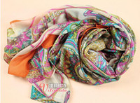 Wholesale Silk Scarf Bohemian Restore Ancient Ways Voile Personality New Style XAJ