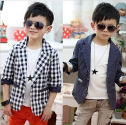 Newest Boys Children's Formal Suits Wedding Prom Suit Spring Autumn Wave Point And Grid Tuxedo Gift