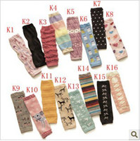 Wholesale Children Cotton Socks Toddlers Baby Leg Warmer Tube Socks Arm Warmers Baby Leggings Leg