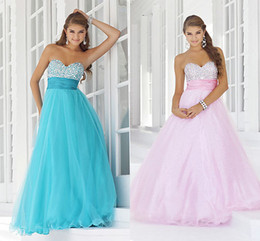 Wholesale sparkle sweeheart beading ruffled waistband back lace up organza Quinceanera Dresses