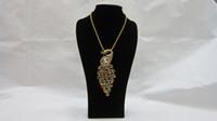Wholesale Black Velvet Bust Necklace Pendant Display Stand Holder Showcase