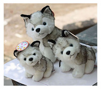 Wholesale husky dog plush toys stuffed animals toys amp hobbies inch