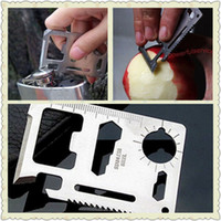Wholesale 20 X Mini in Multi function Tool Size Pocket Military Multi function Knife Tool