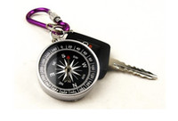 Wholesale mini compass compass pocket American compass keychain compass
