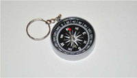 Wholesale mini compass compass New Mini Lensatic Compass Keychain