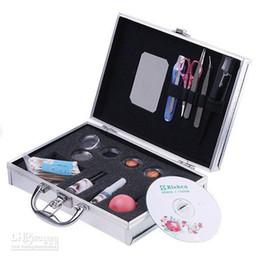Wholesale Eye Lash False Eyelashes Extension Kit Full Set Case sets