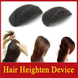 Wholesale 120pairs plate hair volume hair heighten device puff retail package makeup tools