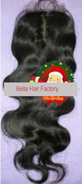 Wholesale Virgin Hair Top Closure Natural Wave Natural Color Silk Lace Top Lace Front Closure quot X4 quot