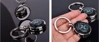 Wholesale Mini Outdoor Camping Keychain Compass keychain with compass